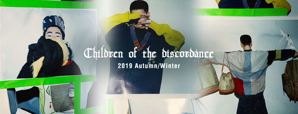 children of the discordance 2019 AUTUMN/WINTER